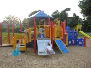Weber Park's New Playground!