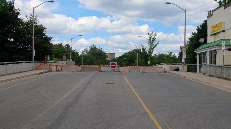 Margaret Avenue bridge