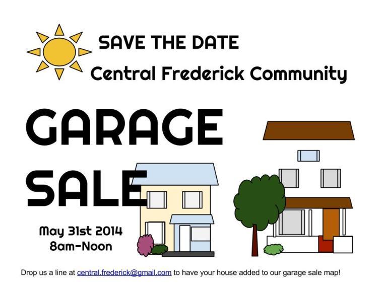 CFNA Garage Sale 2014