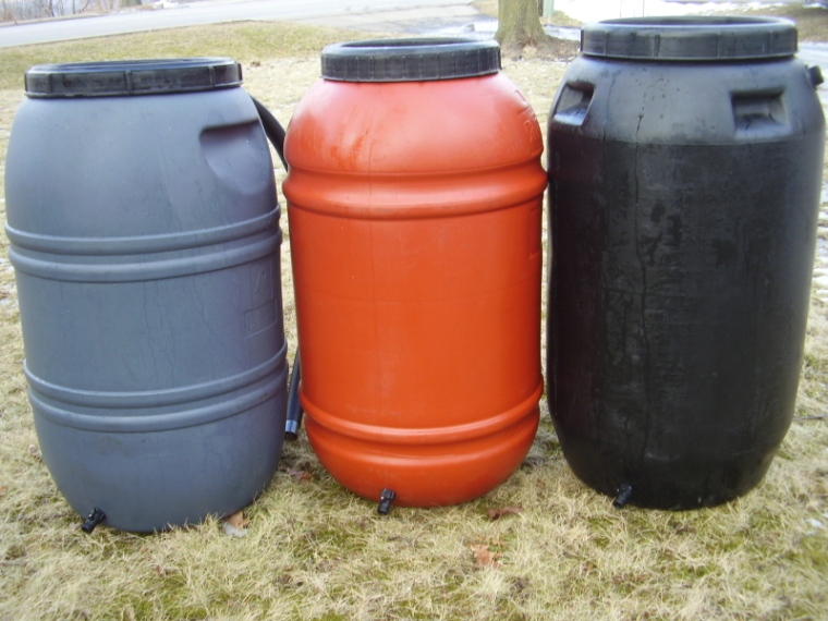 Rain barrels for sale