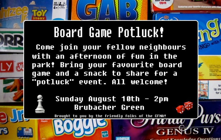 board game potluck